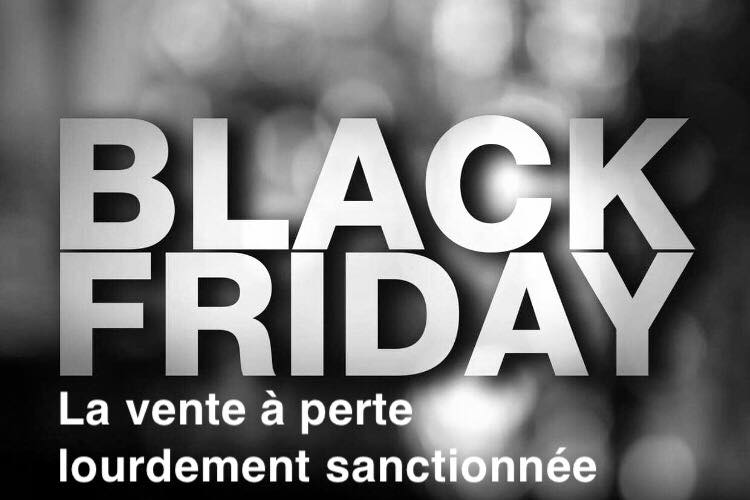 Loi. Black Friday : la vente à perte lourdement sanctionnée