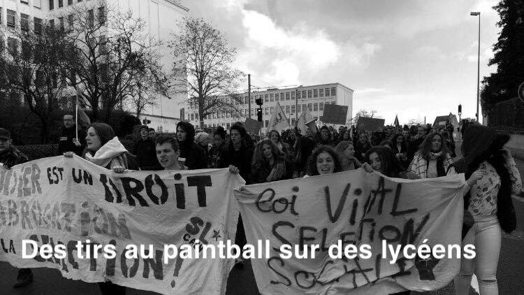 Loi et Libertés individuelles. Marseille : des tirs au paintball sur des lycéens