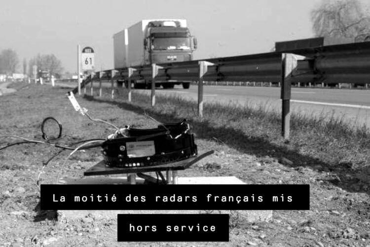 Pénal. La moitié des radars français mis hors service par les Gilets Jaunes