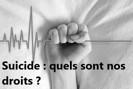 Pénal. Suicide : quels sont nos droits ?