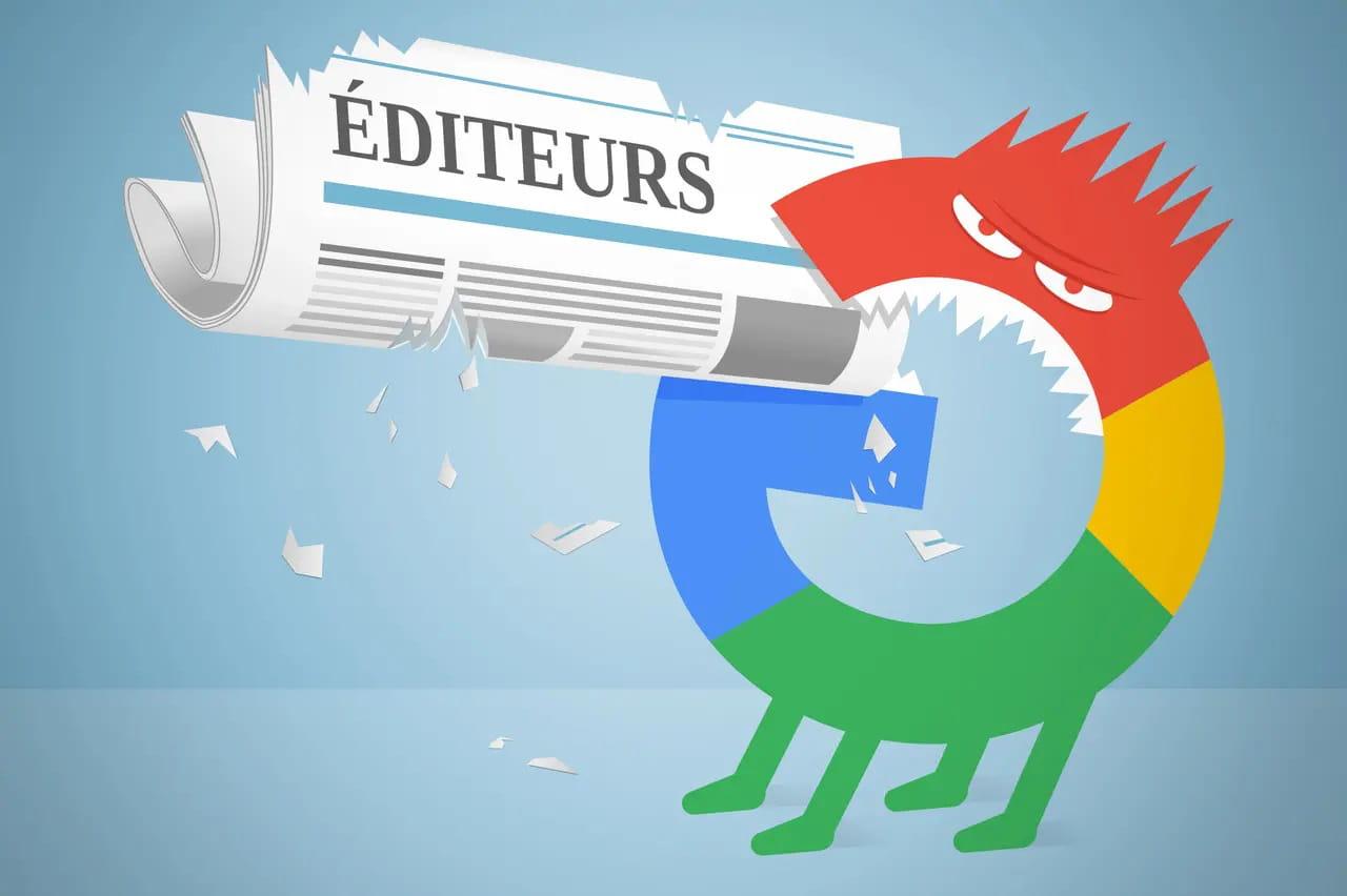 Droit Européen. Conflit entre Google et les médias.